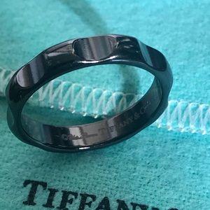 Tiffany & Co. Paloma Picasso Titanium Groove Ring